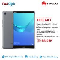 "Huawei Mediapad M5 8.4"" (4GB/64GB) Original Huawei Malaysia Set + 5 Free Gift Worth RM249"