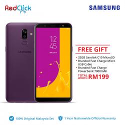 Samsung Galaxy J8 (3GB/32GB) Original Samsung Malaysia Set + 3 Free Gift Worth RM199