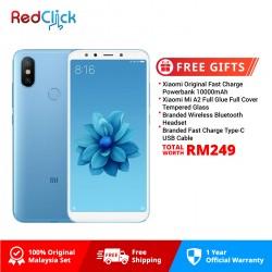 Xiaomi Mi A2 (4GB/64GB) Original Xiaomi Malaysia Set + 5 Free Gift Worth RM249