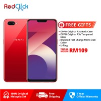 OPPO A3s /cph1803 (2GB/16GB) Original OPPO Malaysia Set + 4 Free Gift Worth RM109