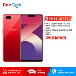 OPPO A3s /cph1803 (2GB/16GB) Original OPPO Malaysia Set + 4 Free Gift Worth RM109