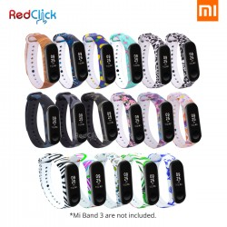 Xiaomi Mi Band 3 Fancy Pattern Wristband Strap