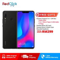 Huawei Nova 3i (4GB/128GB) Original Huawei Malaysia Set + 4 Free Gift Worth RM299