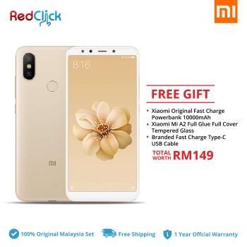 Xiaomi Mi A2 (6GB/128GB) Original Xiaomi Malaysia Set + 3 Free Gift Worth RM149