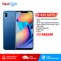Honor Play (4GB/64GB) Original Honor Malaysia Set + 6 Free Gift Worth RM249