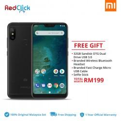 Xiaomi Mi A2 Lite (3GB/32GB) Original Xiaomi Malaysia Set + 5 Free Gift Worth RM199