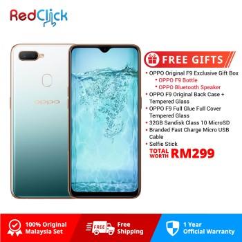 OPPO F9 (6GB/64GB) Original OPPO Malaysia Set + 6 Free Gift Worth RM299