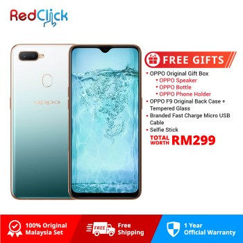 OPPO F9 (6GB/64GB) Original OPPO Malaysia Set + 4 Free Gift Worth RM299