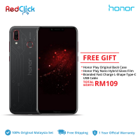 Honor Play /Played Edition (4GB/64GB) Original Honor Malaysia Set + 3 Free Gift Worth RM109