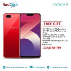 OPPO A3s (3GB/32GB) ORIGINAL OPPO MALAYSIA SET + 6 FREE GIFT WORTH RM199