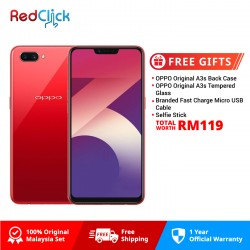 OPPO A3s (3GB/32GB) ORIGINAL OPPO MALAYSIA SET + 4 FREE GIFT WORTH RM119