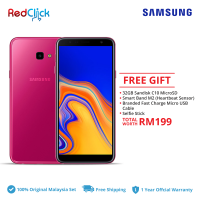 Samsung Galaxy J4 Plus /j415f (2GB/32GB) Original Samsung Malaysia Set + 4 Free Gift Worth RM199