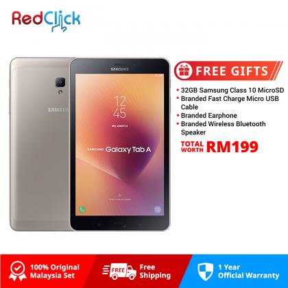Samsung Galaxy Tab A 8.0 (2017) /t385 (2GB/16GB) Original Malaysia Warranty + 4 Free Gift Worth RM199