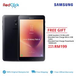 Samsung Galaxy Tab A 8.0 (2017) /t385 (2GB/16GB) Original Malaysia Warranty + 3 Free Gift Worth RM199