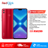 Honor 8X (4GB/128GB) Original Honor Malaysia Set + 7 Free Gift Worth RM199