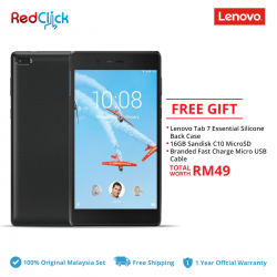 Lenovo Tab 7 Essential /tb-7304i (2GB/16GB) + 3 Free Gift Worth RM49