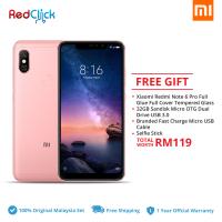Xiaomi Redmi Note 6 Pro (4GB/64GB) Original Xiaomi Malaysia Set + 4 Free Gift Worth RM119