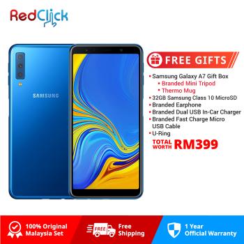 Samsung Galaxy A7 /a750gn (4GB/128GB) Original Malaysia Set + 6 Free Gift Worth RM399