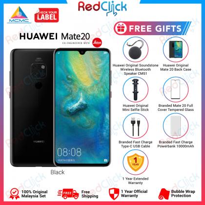 Huawei Mate 20 (6GB/128GB) Original Huawei Malaysia Set + 5 Free Gift Worth RM699