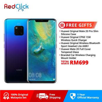 Huawei Mate 20 Pro (6GB/128GB) Original Huawei Malaysia Set + 5 Free Gift Worth RM699
