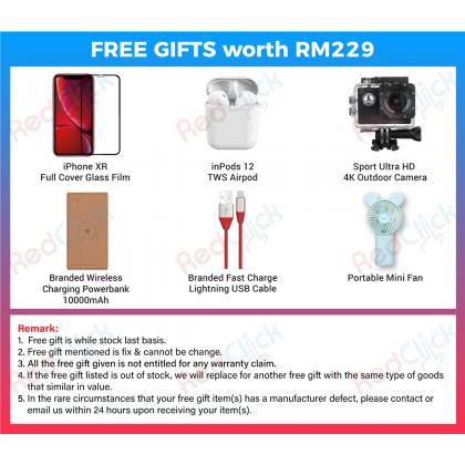 Apple iPhone XR (64GB/128GB/256GB) Original Apple Malaysia + 6 Free Gift Worth RM229