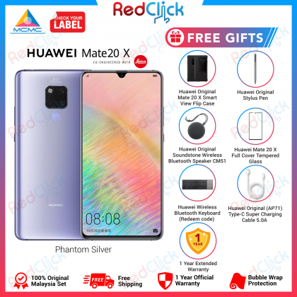 Huawei Mate 20 X (6GB/128GB) Original Huawei Malaysia Set + 5 Free Gift Worth RM599