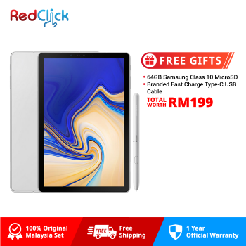 "Samsung Galaxy Tab S4 10.5"" /t835 (4GB/64GB) Original Samsung Malaysia Set + 2 Free Gift Worth RM199"