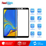 Samsung Galaxy A7 2018 Full Glue Full Cover 9H Tempered Glass