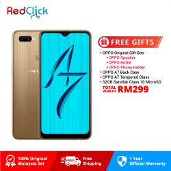 OPPO A7 (4GB/64GB) Original OPPO Malaysia Set + 4 Free Gift Worth RM109