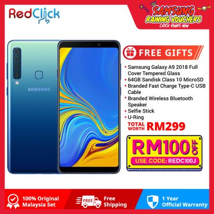 Samsung Galaxy A9 (6GB/128GB) Original Samsung Malaysia Set + 6 Free Gift Worth RM299
