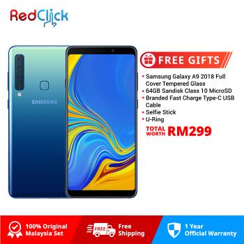 Samsung Galaxy A9 (6GB/128GB) Original Samsung Malaysia Set + 5 Free Gift Worth RM299