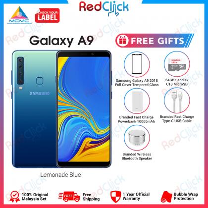 Samsung Galaxy A9 (6GB/128GB) Original Samsung Malaysia Set + 5 Free Gift Worth RM399