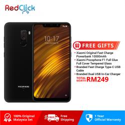 Xiaomi Pocophone F1 /Amored Edition (6GB/128GB) Original Xiaomi Malaysia Set + 4 Free Gift Worth RM249