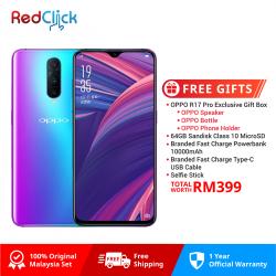 OPPO R17 Pro /cph1877 (8GB/128GB) Original OPPO Malaysia Set + 5 Free Gift Worth RM399