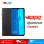 Huawei Y Max /ARS-L22 (4GB/128GB) Original Huawei Malaysia Set + 4 Free Gift Worth RM199