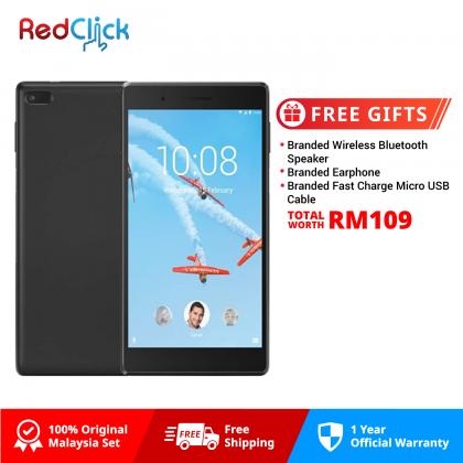 "Lenovo Tab 7.0"" / tb-7504x (2GB/16GB) Original Lenovo Malaysia Set + 3 Free Gift Worth RM109"