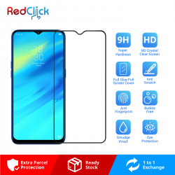 Realme 2 Pro Full Glue Full Cover 9H Tempered Glass