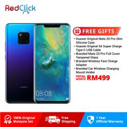 Huawei Mate 20 Pro (8GB/256GB) Original Malaysia Set + 5 Free Gift Worth RM499