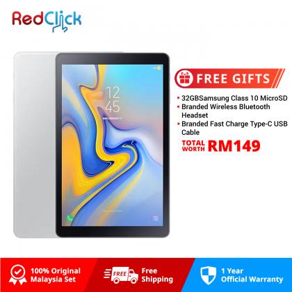 """Samsung Galaxy Tab A 10.5"""" /t595 (3GB/32GB) Original Samsung Malaysia Set + 3 Free Gift Worth RM149"""