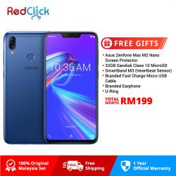 Asus Zenfone Max (M2) /zb633kl (4GB/32GB) Original Asus Malaysia Set + 6 Free Gift Worth RM199
