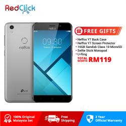 Neffos Y7 /tp910a (2GB/16GB) Original Neffos Malaysia Set + 5 Free Gift Worth RM119