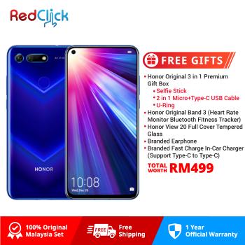 Honor View 20 (6GB/128GB) Original Honor Malaysia Set + 5 Free Gift Worth RM499