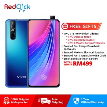 VIVO V15 Pro (6GB/128GB) Original VIVO Malaysia Set + 5 Free Gift Worth RM499