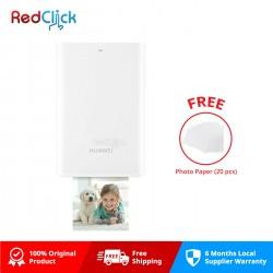 Huawei Original Pocket Photo Printer (Ink Free) + Free Gift
