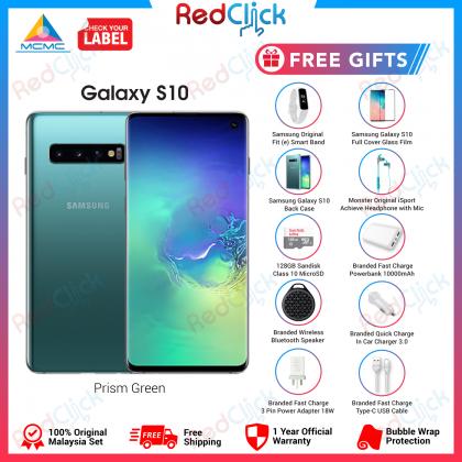 Samsung Galaxy S10/G973 (8GB/128GB) Original Samsung Malaysia Set + 10 Free Gift Worth RM899