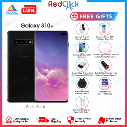 Samsung Galaxy S10 Plus/G975 (8GB/128GB) Original Samsung Malaysia Set + 9 Free Gift Worth RM799