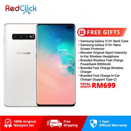Samsung Galaxy S10 Plus/G975 (8GB/512GB) Original Samsung Malaysia Set + 6 Free Gift Worth RM699
