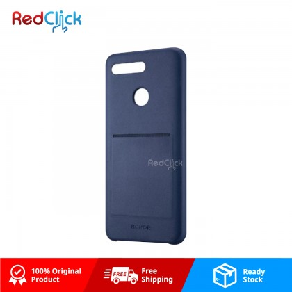 Honor Original View 20 PU Back Case With Card Slot