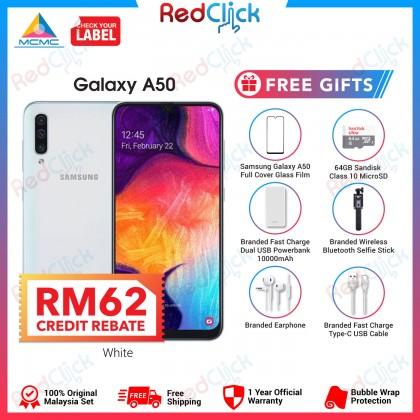 Samsung Galaxy A50 (6GB/128GB) Original Samsung Malaysia Set + 6 Free Gift Worth RM299