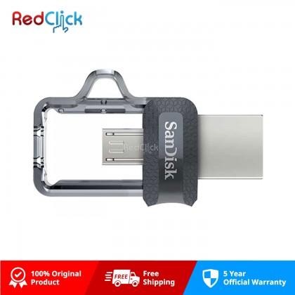Sandisk Original Ultra Dual Drive USB 3.0 Micro OTG Flash Drive
